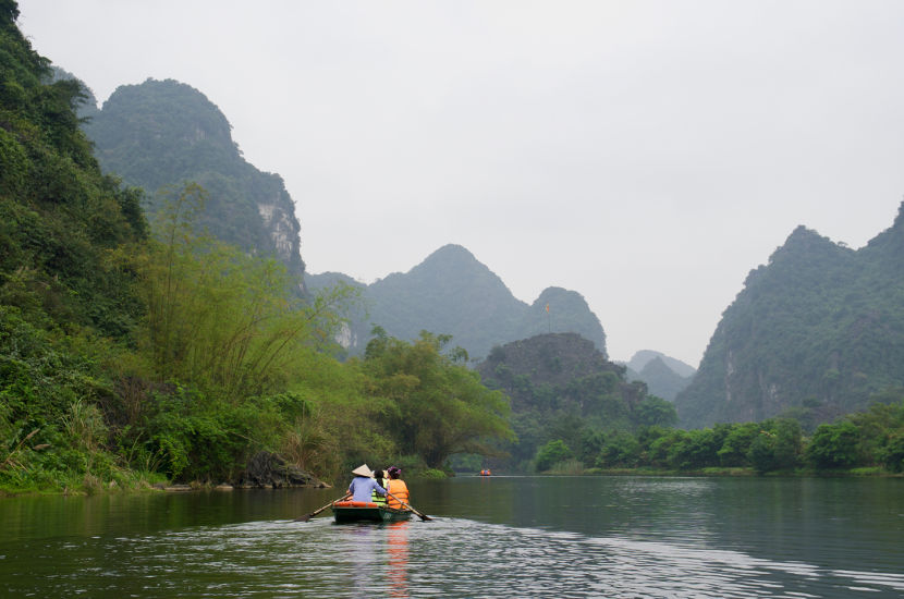 When asked where to go in Vietnam, Michelle said Ninh Binh.