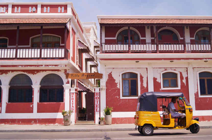 Jenny says that Pondicherry is one of the places to visit in India that you should keep on your radar.