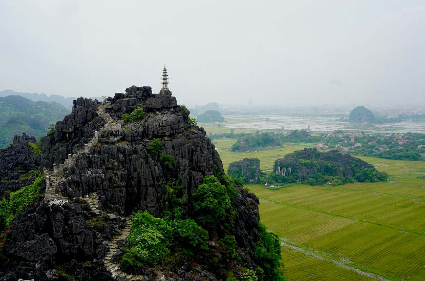When asked where to go in Vietnam, Ben said Tam Coc.