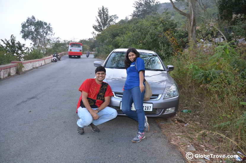 One of the places to visit near Bangalore is Nandi hills