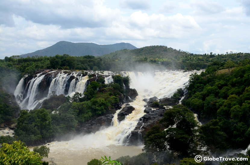 Shivanasamdra falls was our second stop on ur way back from Mysore to Bangalore