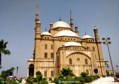 The Mosque of Mohammad Ali inside the Saladin Citadel of Cairo