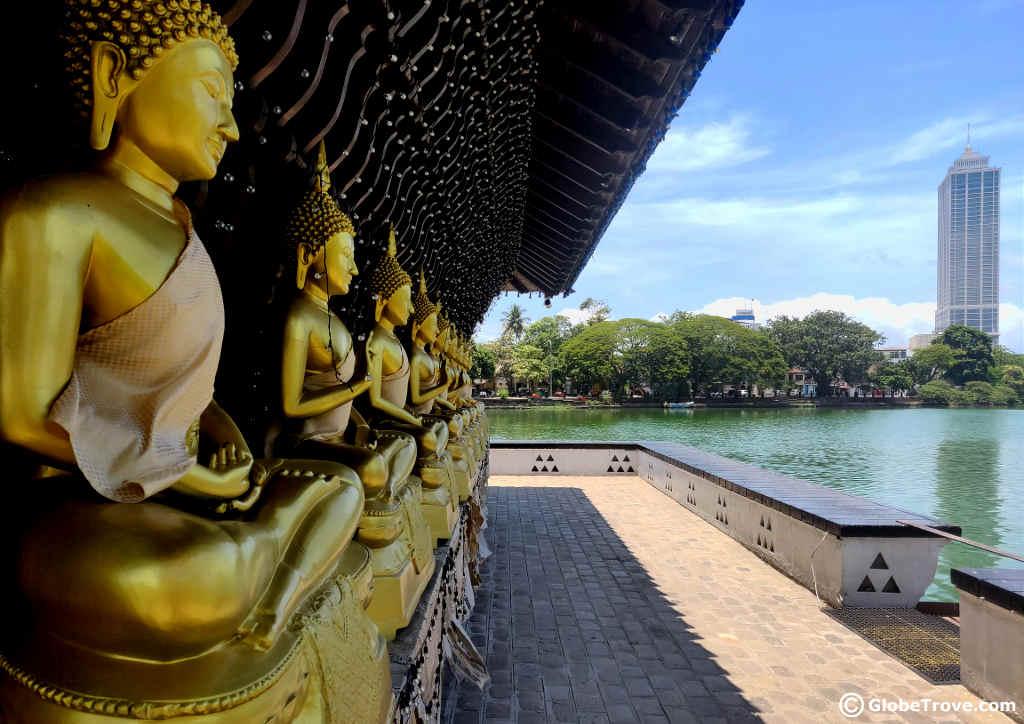 Seema Malaka: A Peaceful Temple In The Middle Of Beira Lake - GlobeTrove