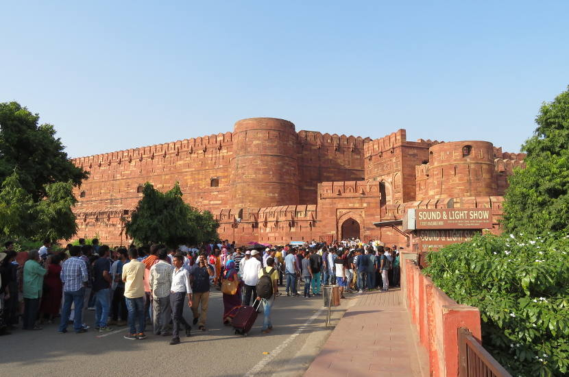 Agra Fort is another one of the gorgeous UNESCO Heritage sites in India