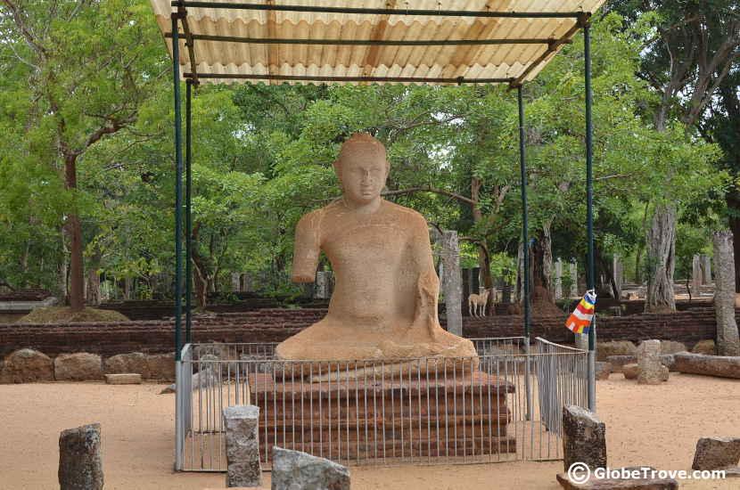 The museum in Anuradhapura