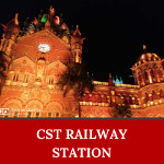 CST Railway station is one of the UNESCO Heritage sites in India