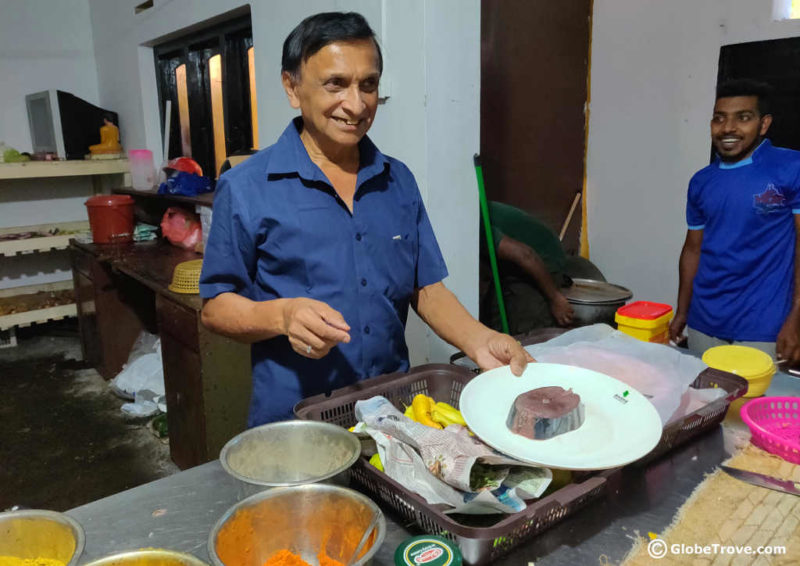 Cooking classes in Sri Lanka