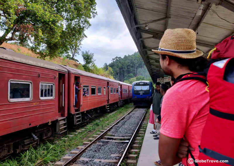Getting from Ella to Kandy by train