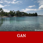 Gan island is one of the gorgeous islands in Maldives