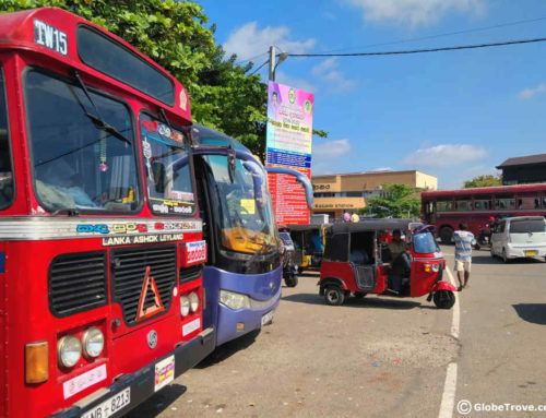 Unawatuna to Galle to Tissamaharama: On The Bus like A Local