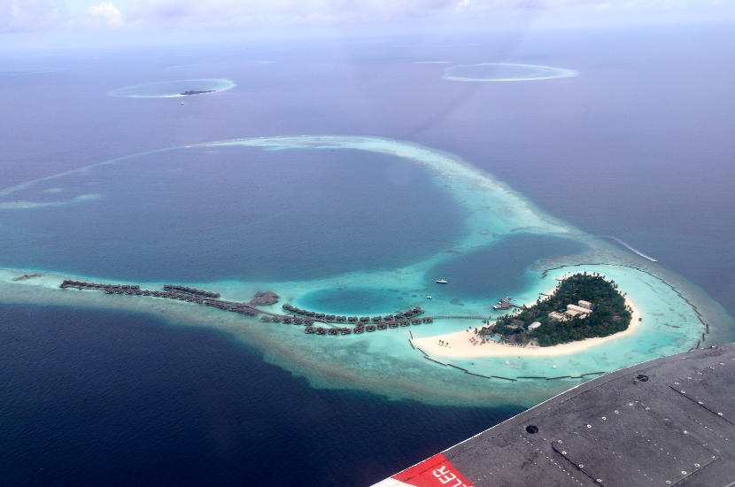 Haleveli Island is one of the gorgeous islands in Maldives