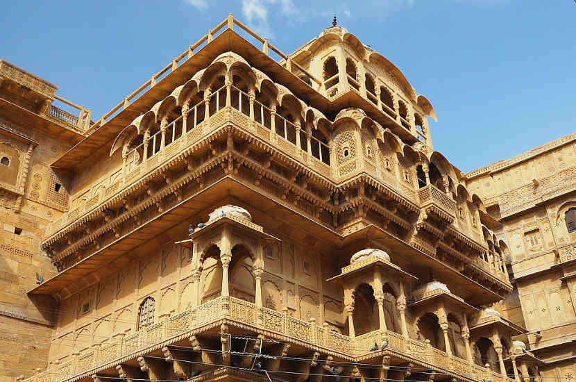 Jaisalmer is one of the most gorgeous UNESCO heritage sites in India
