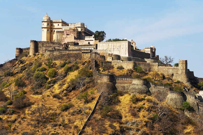 James says that Kumbhalgarh is one of the UNESCO heritages sites in India that you should visit.