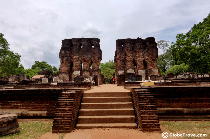 Polonnaruwa was one of the places we visited near Dambulla