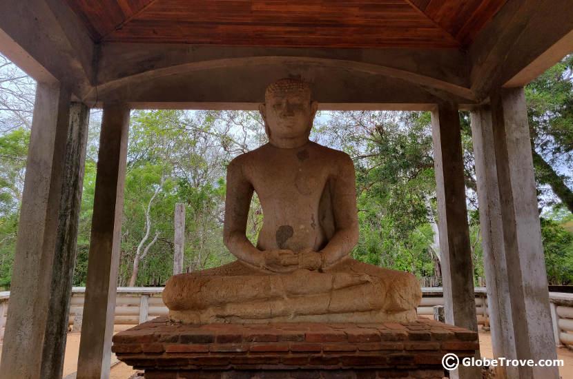 The Samadhi Buddha in Anuradhapura