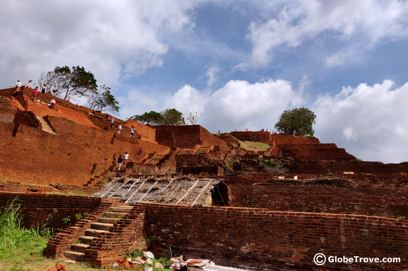 Sigiriya and Anuradhapura were two other UNESCO sites that made their way onto our Sri Lanka itinerary