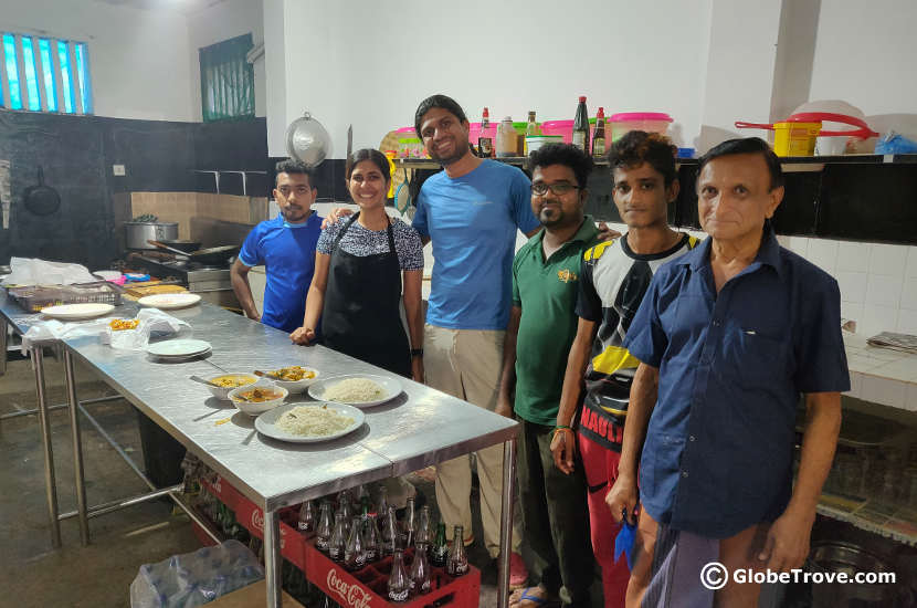 Cooking classes in Tissamaharama