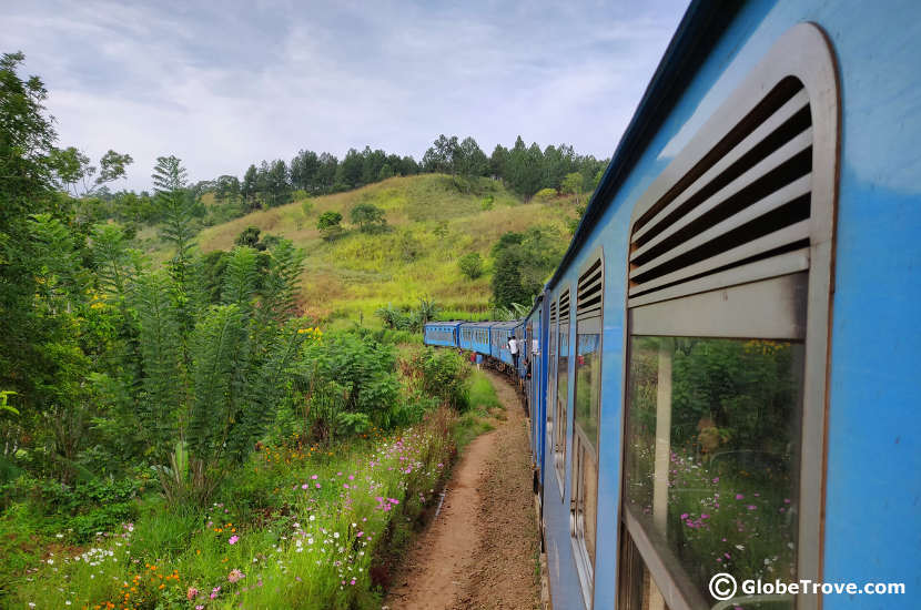 The gorgeous journey from Ella to Kandy by train