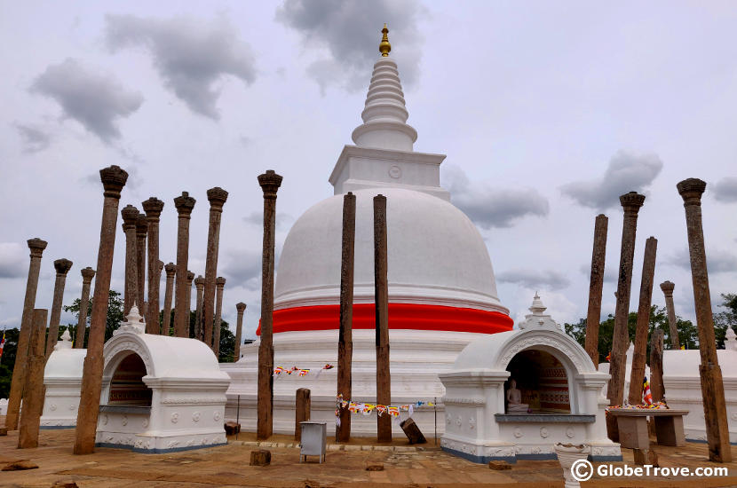 Anuradhapura is one of the most popular UNESCO World Heritage Sites in Sri Lanka