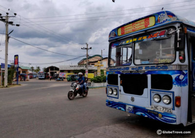 Dambulla to Trincomalee by bus