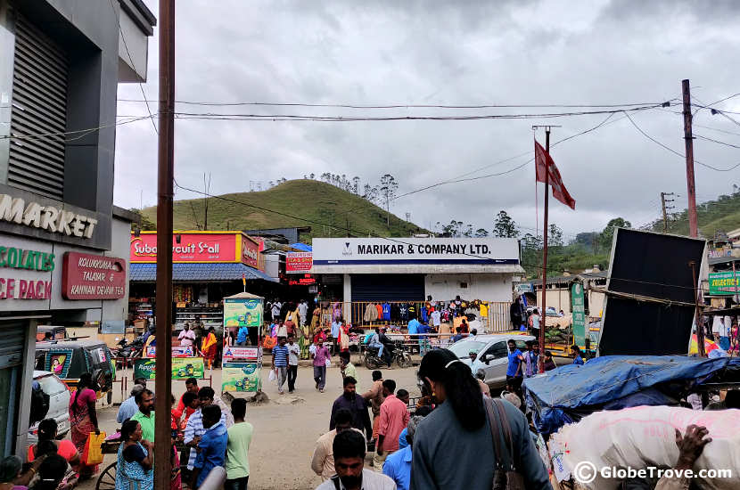 The market was one of our stops in our day trip to Munnar