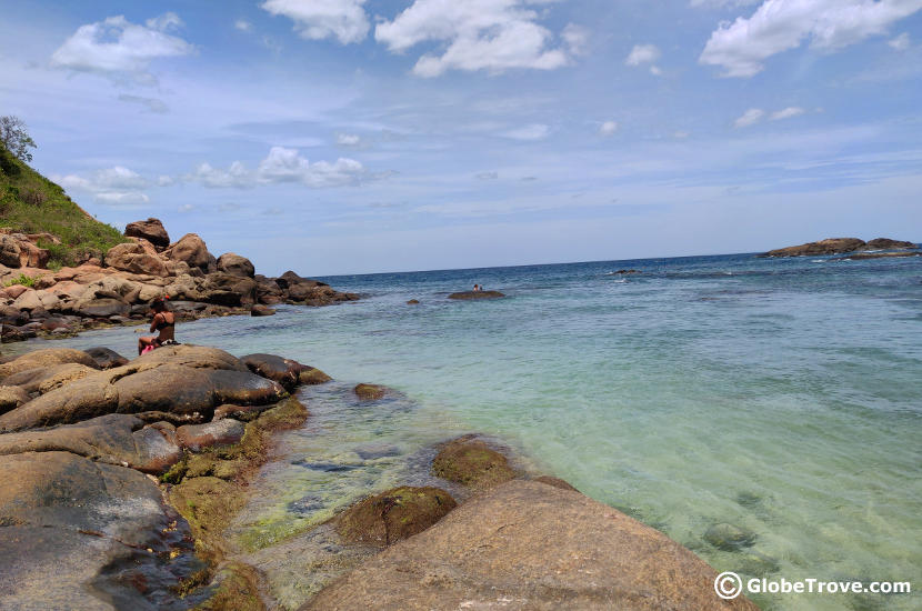 Pigeon island is one of the things to do in Trincomalee