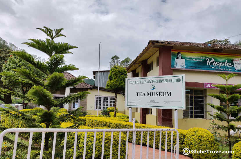 The tea museum was one of our stops in our day trip to Munnar