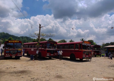 Trincomalee to Colombo by bus