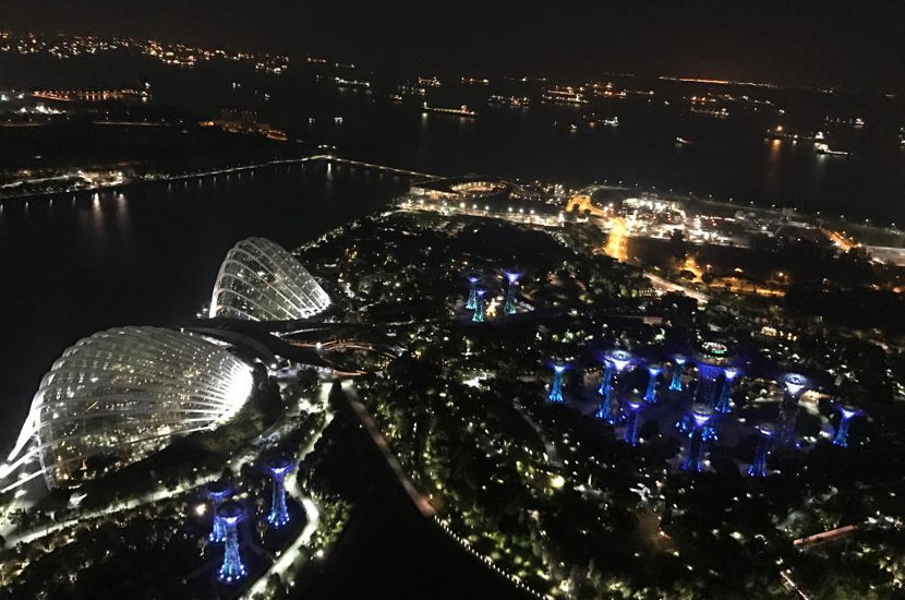 Another one of the gorgeous rooftop bars in Singapore is Ce La Vi