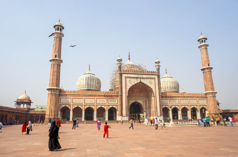 Jama Mosque should be part of your one month itinerary of north India