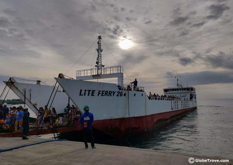 Cebu to Bohol By Ferry