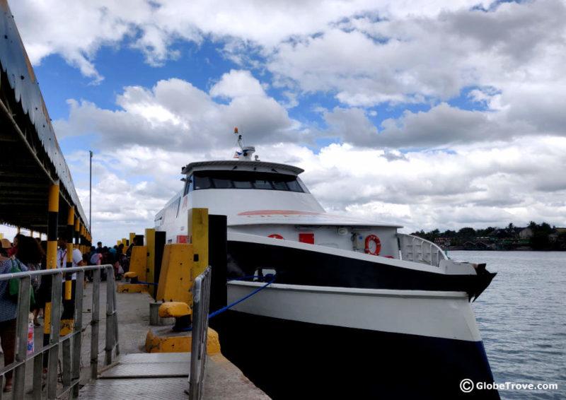 Ferry from Bohol to Cebu
