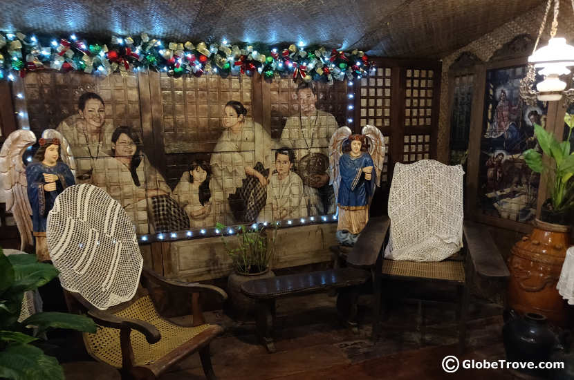 Inside the Yap Ancestral House in Cebu City