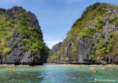 Island hopping tours in El Nido