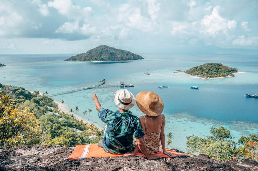 The Bawah reserve in Indonesia is a gorgeous spot you should consider on your babymoon destinations in Asia list.