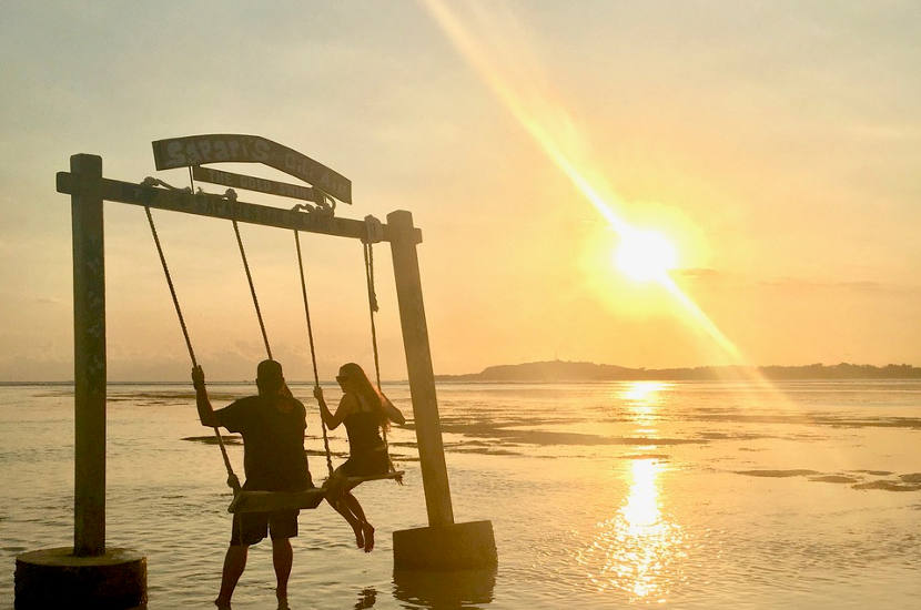 Sara says that the Gili islands in Indonesia should be one of the top contenders for babymoon destinations in Asia.