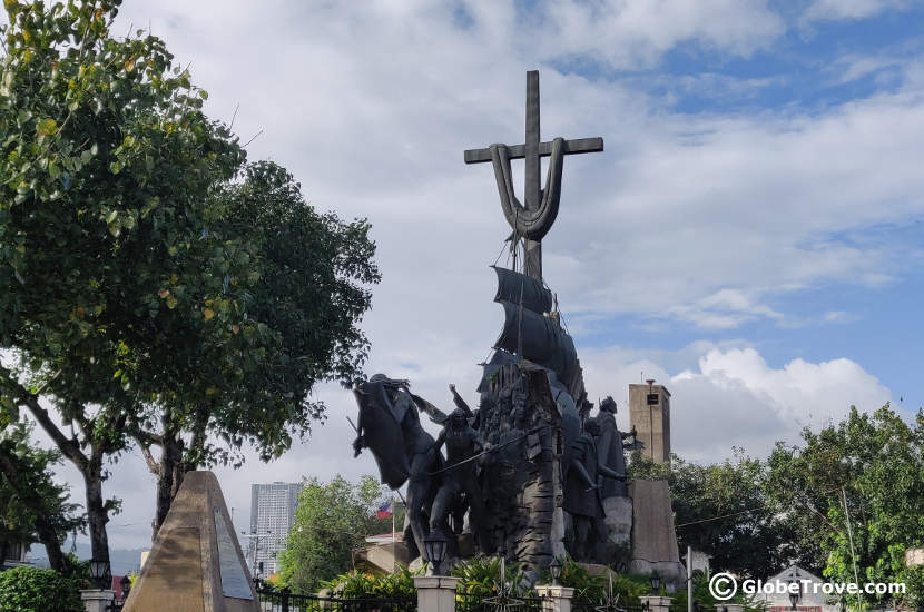 One of my favourite things to do in Cebu city is take in a view of the Heritage Monument