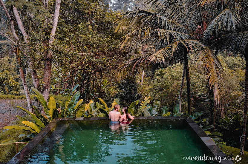 When asked about the best babymoon destinations in Asia, Katie and Ben chose to talk about Ubud in Indonesia.