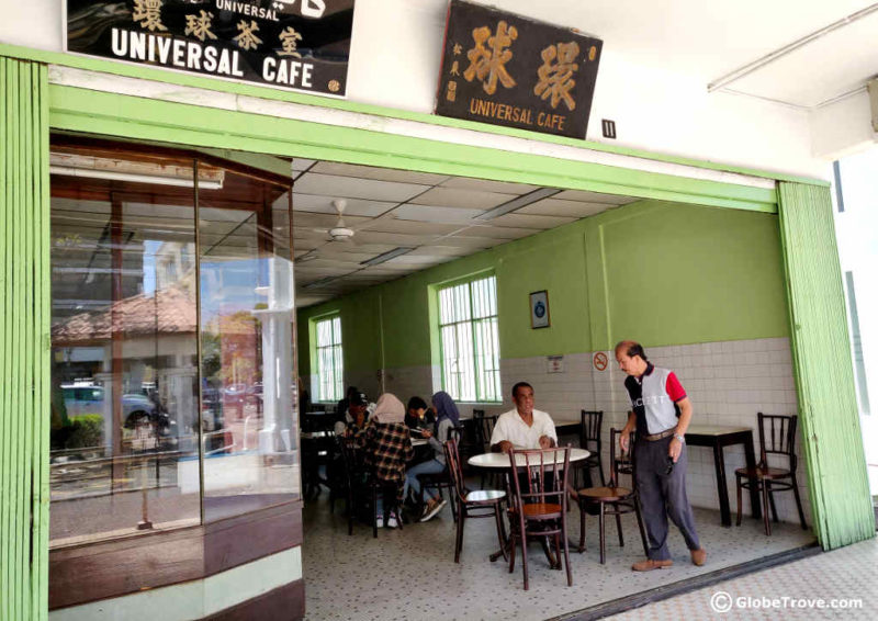 Universal Cafe in Seria Brunei
