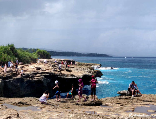 Visiting Devil's Tear In Nusa Lembongan