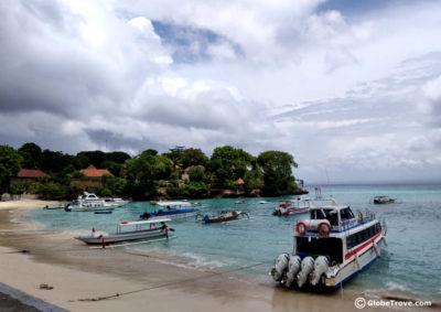 Nusa Lembongan to Bali
